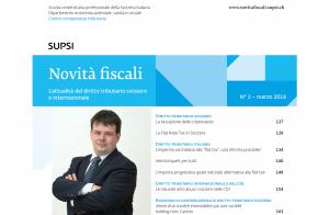 """Cavadini Roberto_articolo """"Novità fiscali"""" SUPSI"""